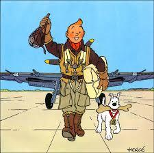 Tintin et l'aviation