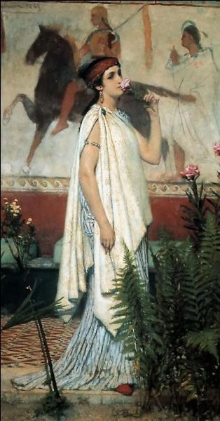 Qui est cette courtisane athénienne d'une très grande beauté ? Elle a été la maîtresse d'Épicure.