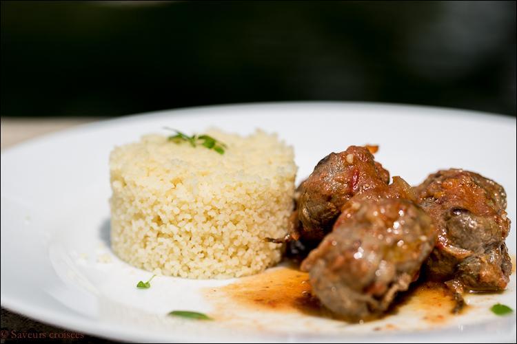 Ceux qui préfèrent peuvent gôuter ce merveilleux plat, paupiette fourrée d'un hachis, quel est son nom ?