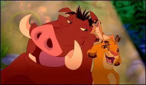 """Le roi lion (Hakuna Matata) : """"Il compris que son odeur au lieu de sentir la fleur..."""""""