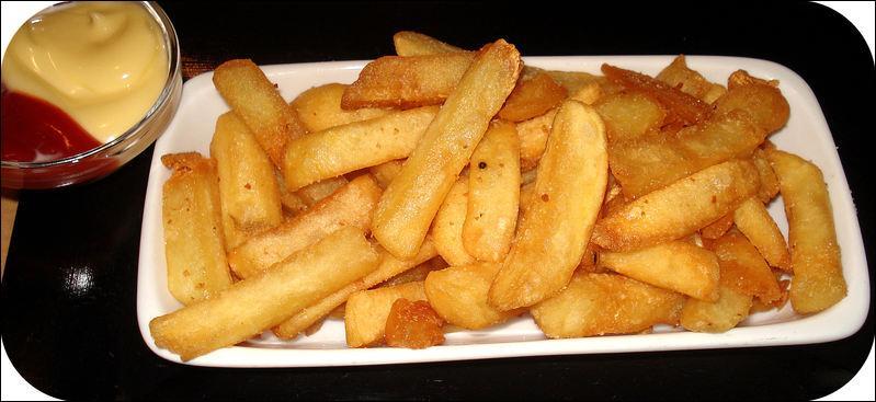 Les moules ne vont pas sans les frites ! Voici un secret pour obtenir de bonnes frites :