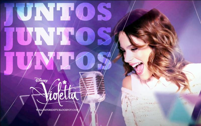 """Violetta dit : """"Chanter, c'est…"""""""