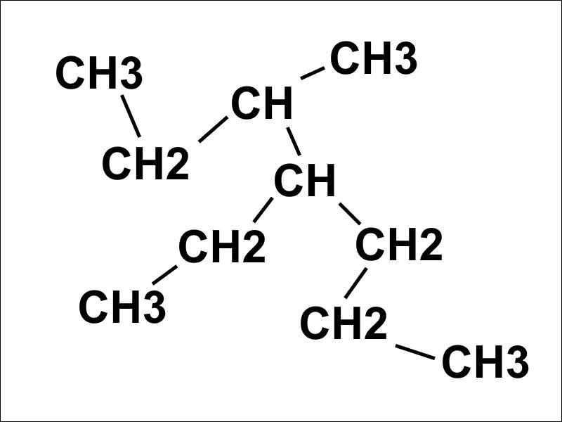 Quel nom porte cette molécule ?