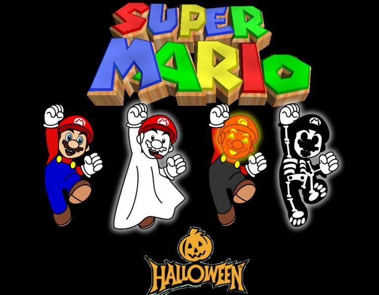 En quoi est déguisé Mario dans sa 3e transformation ?