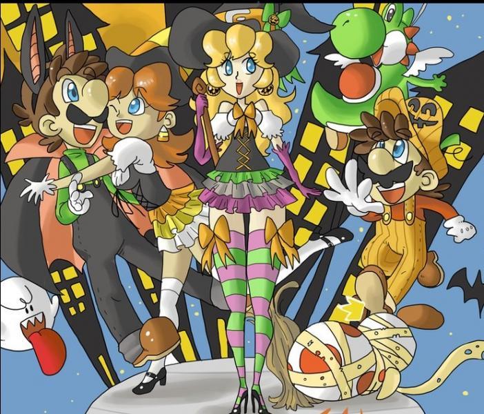 Quel est le beau déguisement de Mario ?