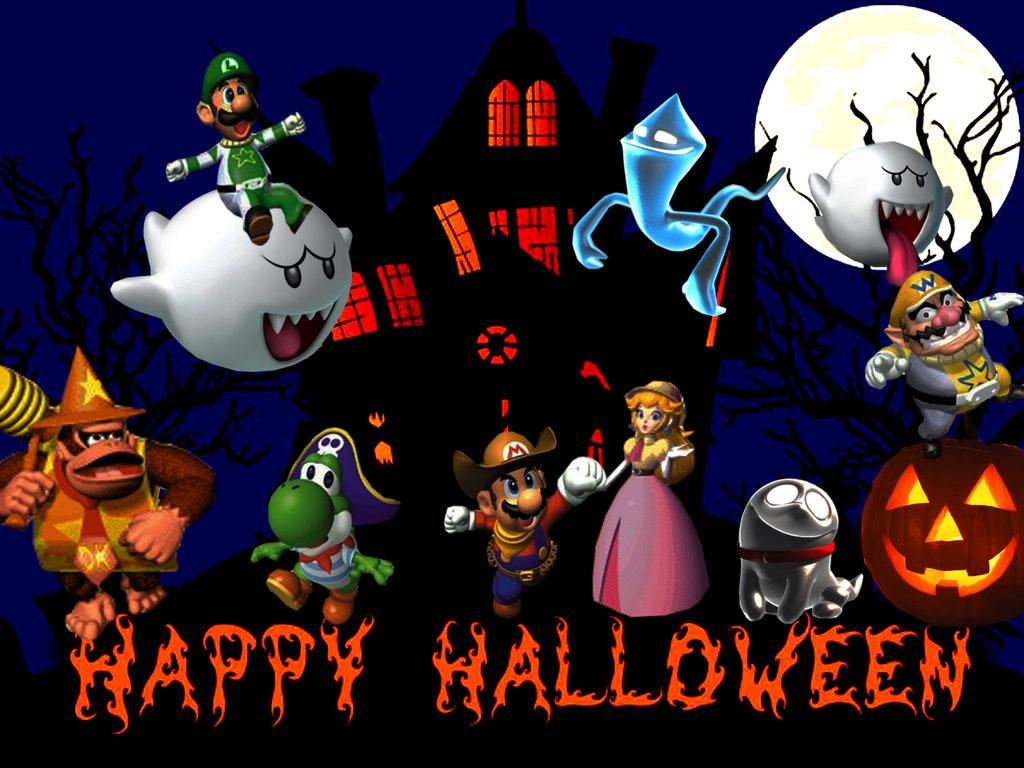 Mario en folie (8) Spécial Halloween !