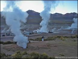 Dans quel pays pourrez-vous voir jaillir les geysers del Tatio ?