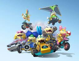 Mario Kart 8 : personnages