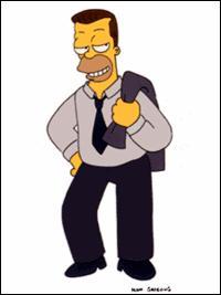 Quel est le nom du demi-frère d'Homer ? (voir illustration)