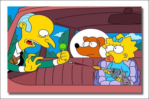 Comment avons-nous su que Maggie Simpson a tiré une balle sur M. Burns ?