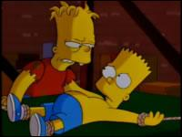 On a caché à Bart un frère jumeau. Quel est son nom ?