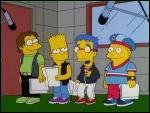 Un producteur a lancé un boys band avec Bart, Milhouse, Nelson et Ralph. Quel était le nom de leur groupe ?