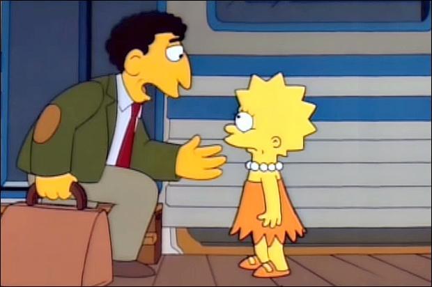 Quand Mme Hoover, la maîtresse de Lisa, est tombée malade, M. Bergstrom l'avait remplacée pour quelque temps. De quel instrument jouait-il ?