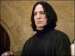 Pourquoi Rogue aime-t-il Harry à la fin de la saga ?