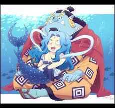 Youpi ! Jinbei sort avec le prince. Mais que fait-il avec lui ?