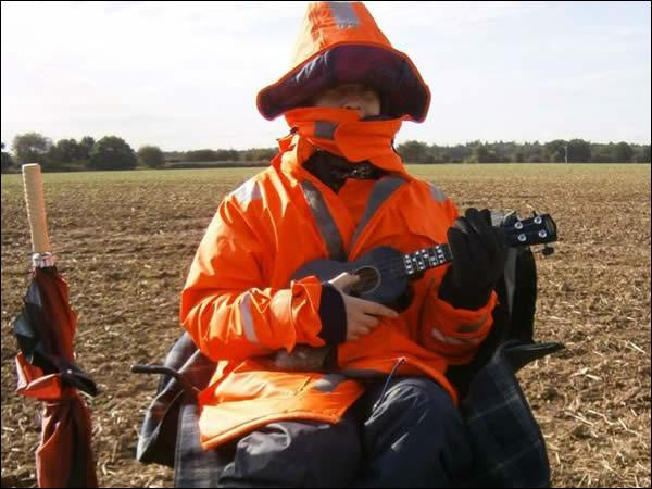 Pour finir, trouvez-moi le métier de ce jeune homme, Jamie Fox :