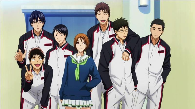 Quel est le nom de l'équipe que rejoint Kagami ?
