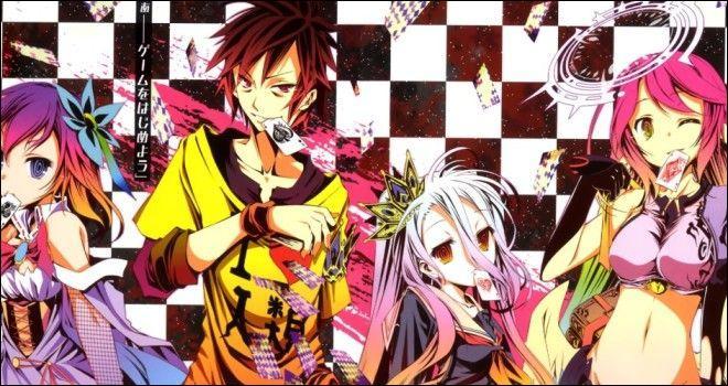 Partons dans un manga où le jeu est une règle de vie pour résoudre chaque conflit. Quel est-il ?