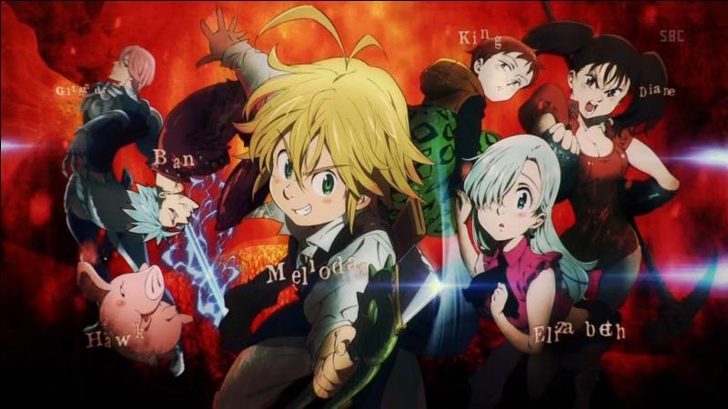 Allons dans un manga où les péchés capitaux sont présents. Quel est-il ?