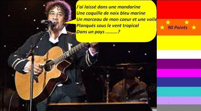 """Pour 90 points, en 1979, Laurent Voulzy nous chante """"Le Coeur Grenadine"""". Quelle est la bonne parole de la chanson ?"""