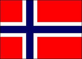 Et enfin, à quel pays appartient ce drapeau constitué d'une croix bleue foncée bordée de lignes blanches et le restant en rouge ?