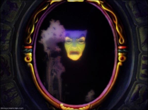 Quizz anecdotes sur les m chants de disney quiz disney for Miroir miroir blanche neige