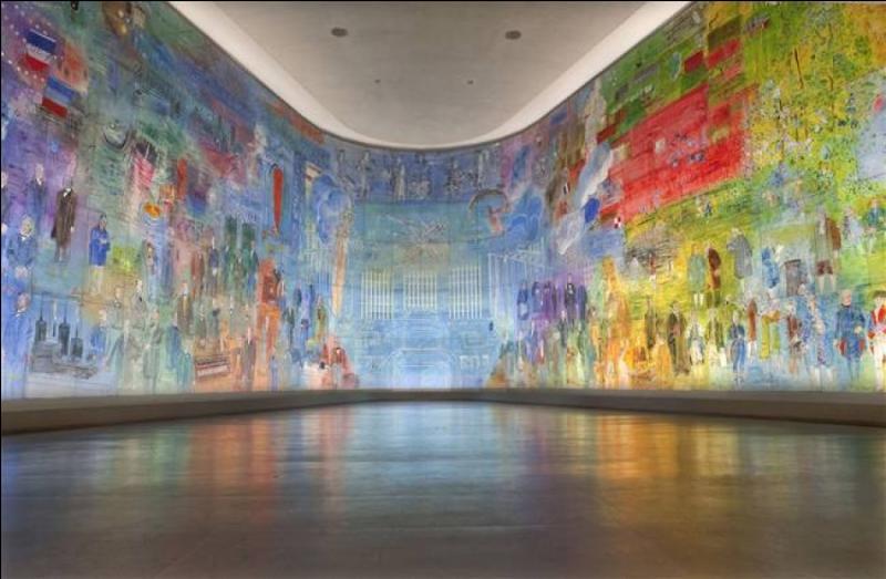 """Quel artiste peintre a réalisé la plus grande peinture existant au monde, nommée """"la fée électricité"""" pour le pavillon de l'Electricité Internationale ?"""