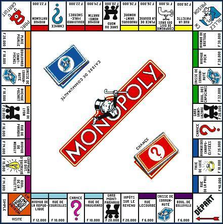 Monopoly à ma manière ! comme base de culture générale