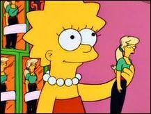 Lisa adore les poupées :