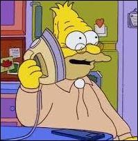 Qui est Abraham pour Marge ?