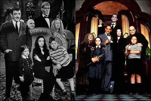 """Avant d'être un film en 1991, """"La Famille Addams"""" était un série en diffusée en :"""
