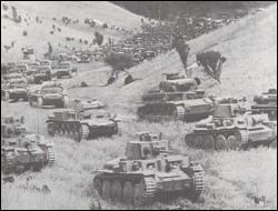 Quel nom a-t-on donné à ce type de guerre éclair, combinant une attaque surprise massive de blindés et un soutien aérien d'une redoutable efficacité ?