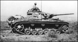 De quels chars d'intervention rapide les Allemands disposaient-il dans cette guerre éclair ?