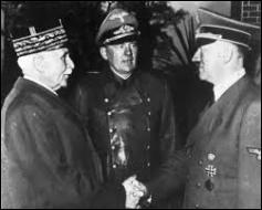 Un nouveau chef du gouvernement est choisi par le Parlement. Dans un discours solennel radiodiffusé le 17 juin 1940, il annonce la capitulation de la France. Quel est son nom ?