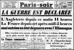 Le 1er septembre 1939, par quelle nouvelle  agression  l'Allemagne nazie va-t-elle directement plonger l'Europe dans la Seconde Guerre mondiale ?