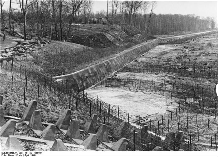 Quel était le nom du système défensif allemand ?