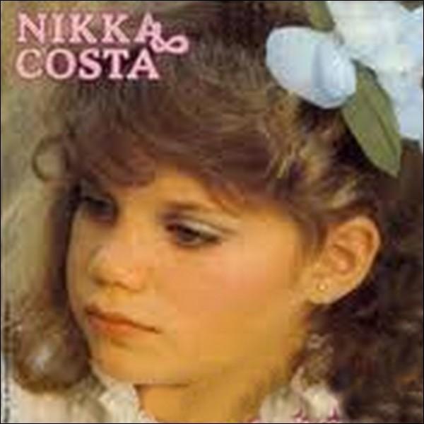 Plus difficile pour la fin. Quel est le titre de cette chanson de Nikka Costa ? Indice : Tout seul.