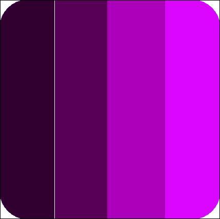Quizz autour du violet quiz couleurs for Couleur complementaire du violet