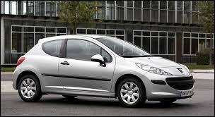 Connaissez-vous cette voiture ?