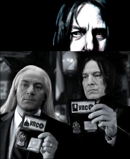 Severus Rogue est le père biologique d'Harry.