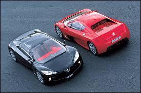 Présentés au mondial de l'automobile de Paris en 2002, ces deux concepts-car Peugeot se nomment ...