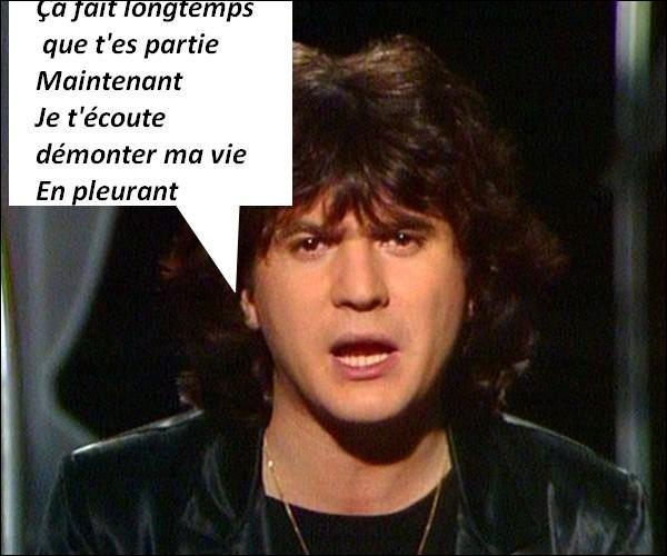 Pour qui Daniel Balavoine chante-t-il ?