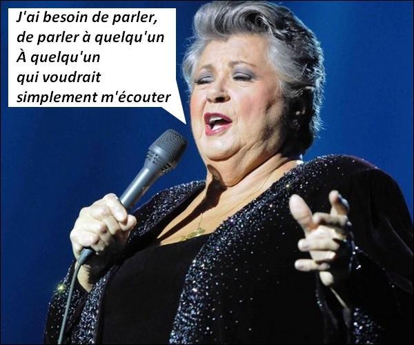 Pour qui Ginette Reno chante-t-elle ?