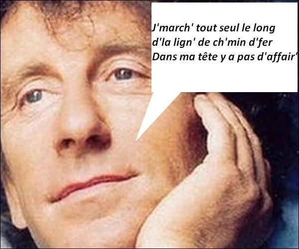 Pour qui chante Alain Souchon ?