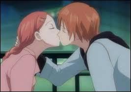 Un autre shôjo : une scène de baiser que nous pouvons voir dans l'anime...