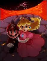 Y a-t-il un jeu où Peach a sauvé Mario une fois ?