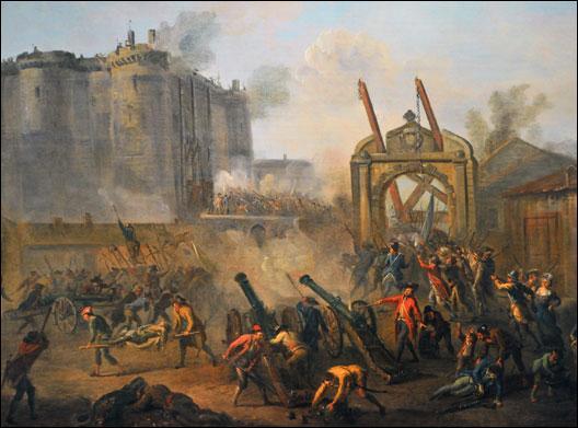 Quand eut lieu la prise de la Bastille ?