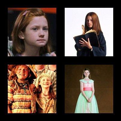 Ginny Weasley ou Bonnie Wright ?