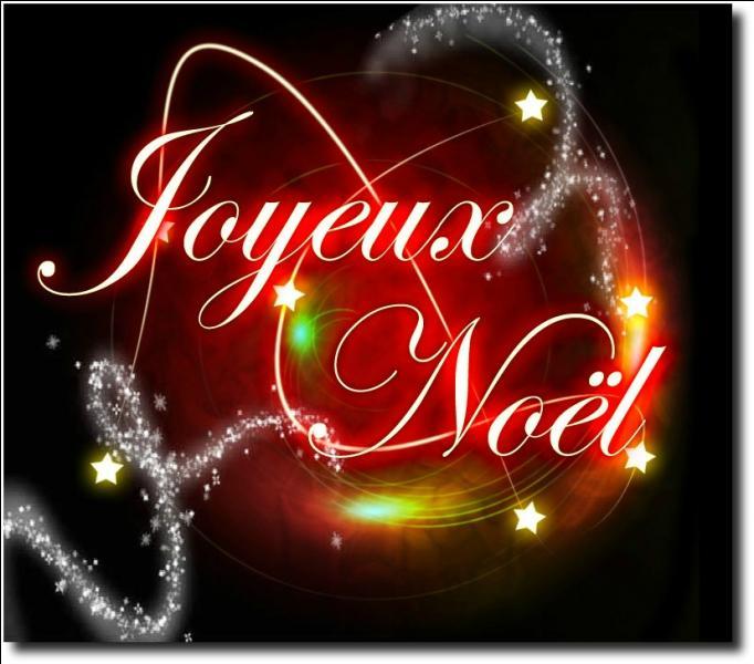 """Et pour finir comment dit-on """"Joyeux Noël"""" en anglais ?"""