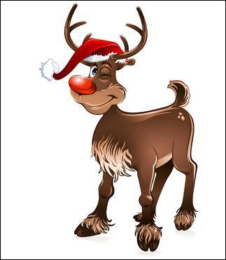 Quel est cet animal très utile au Père Noël ?